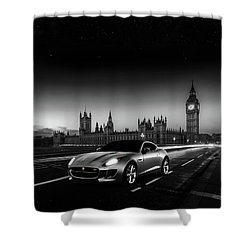 F-type In London Shower Curtain
