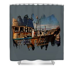 F/v Thunder Shower Curtain