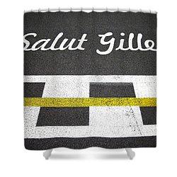 F1 Circuit Gilles Villeneuve - Montreal Shower Curtain