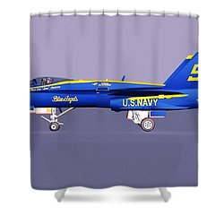 F18 Super Hornet Shower Curtain