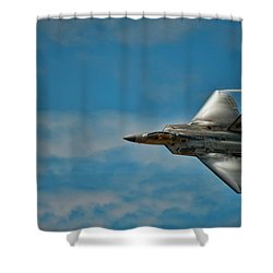F22 Raptor Steals The Show Shower Curtain