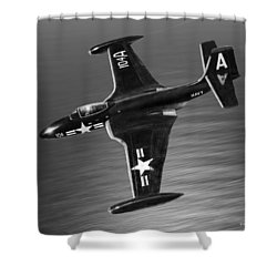 F2h Banshee Shower Curtain
