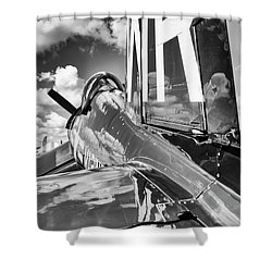 F4U Shower Curtain