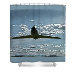 F86 Shower Curtain