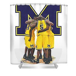 Fab Five Shower Curtain