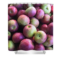 Fabulous Fall Fruits Shower Curtain