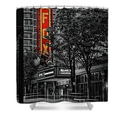Fabulous Fox Theater Shower Curtain by Doug Sturgess