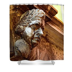 Face In The Streets - Rovinj, Croatia Shower Curtain