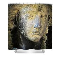 Face Of An Angel 10 Shower Curtain