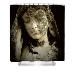 Shower Curtain featuring the photograph Face Of An Angel 9 by Maria Huntley