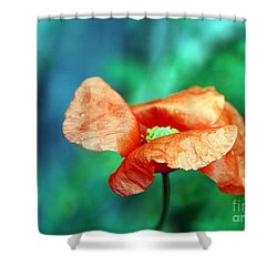 Face Of Love Shower Curtain