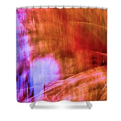 Face Of Reflection Shower Curtain