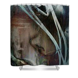 Face Pop Shower Curtain