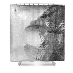 Face Shower Curtain by Skip Nall