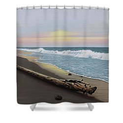 Face To The Morning Shower Curtain
