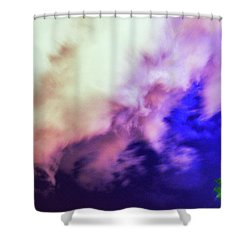 Faces In The Clouds 002 Shower Curtain