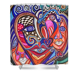 Faces Of Hope Shower Curtain
