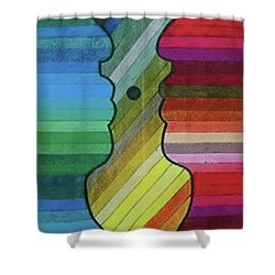 Faces Of Pride Shower Curtain