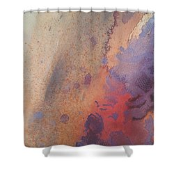 Facing Her Demons Shower Curtain