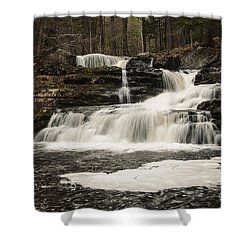 Factory Falls Shower Curtain