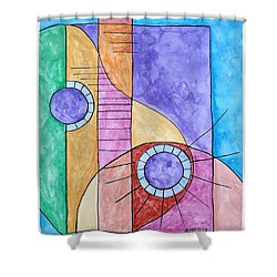 Fade Out Shower Curtain