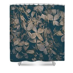Shower Curtain featuring the photograph Faded Flowers by Edward Fielding