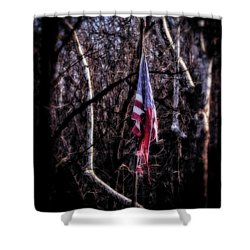 Shower Curtain featuring the photograph Faded Glory by Alan Raasch
