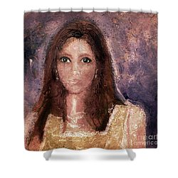 Faded Memories Shower Curtain by Claire Bull