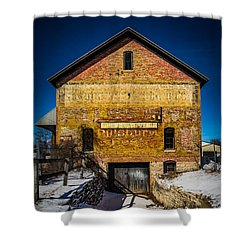 Faded Past Shower Curtain by Kathleen Scanlan