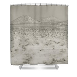Faded Storm Shower Curtain by Scott Sawyer