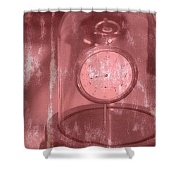 Faded Time Shower Curtain