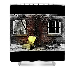 Shower Curtain featuring the photograph Fading Away by Jessica Brawley