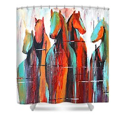 Fading Glory Shower Curtain