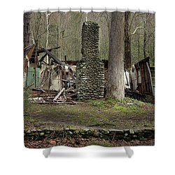 Shower Curtain featuring the photograph Fading Into Tomorrow by Mike Eingle