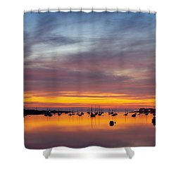Fading Light, Conwy Estuary Shower Curtain