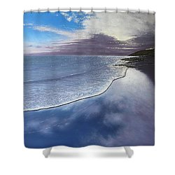 Fading Light Shower Curtain by Paul Newcastle