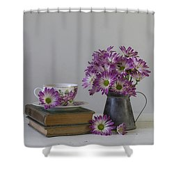Shower Curtain featuring the photograph Fading Memories by Kim Hojnacki