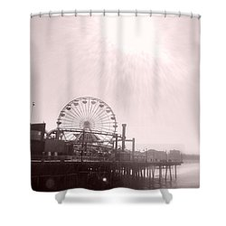 Fading Memories Shower Curtain by Nature Macabre Photography