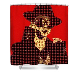 Fading Memories - The Golden Days No.1 Shower Curtain by Serge Averbukh