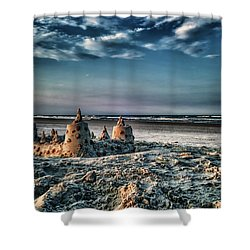 Fading Memory Shower Curtain