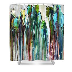Fading Souls Shower Curtain