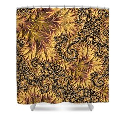 Faerie Forest Floor II Shower Curtain by Susan Maxwell Schmidt