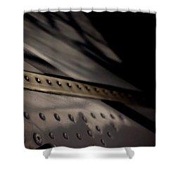 Shower Curtain featuring the photograph Faiding Away by Paul Job