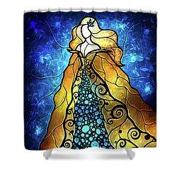 Fair Ophelia Shower Curtain by Mandie Manzano