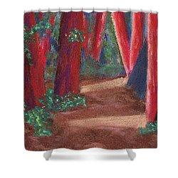 Fairfax Redwoods Shower Curtain