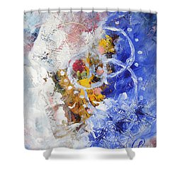 Fairground Shower Curtain