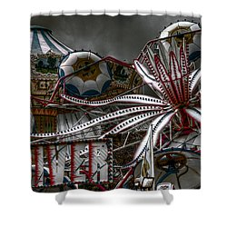 Fairground Rides Shower Curtain