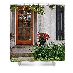 Fairhope Doorway Shower Curtain by Michael Thomas
