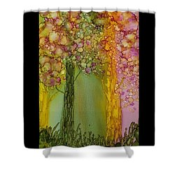 Fairie Forest Shower Curtain
