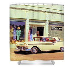 Fairlane 500 1957 Shower Curtain